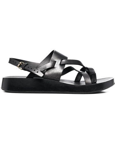 Sandały, czarny Saint Laurent