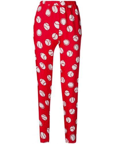 Спортивные брюки укороченные эластичные Love Moschino