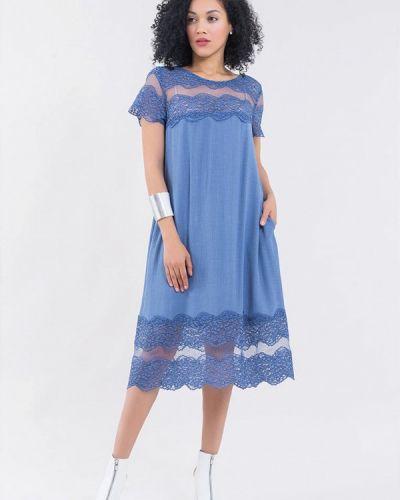 Платье прямое весеннее Maxa
