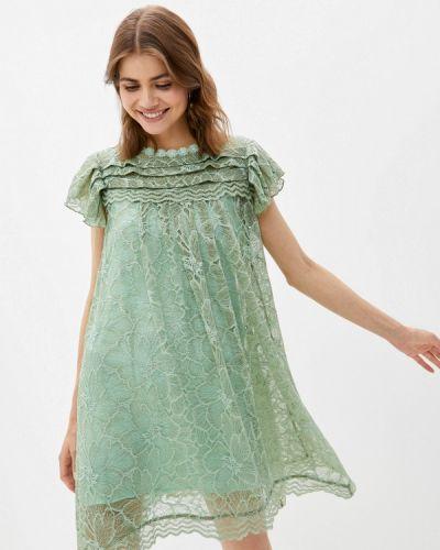 Зеленое вечернее платье мадам т
