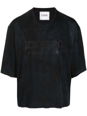 Лонгслив - черная Iceberg