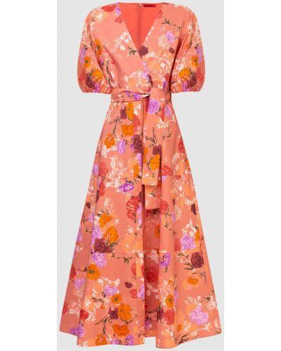 Платье макси - красное Max & Co