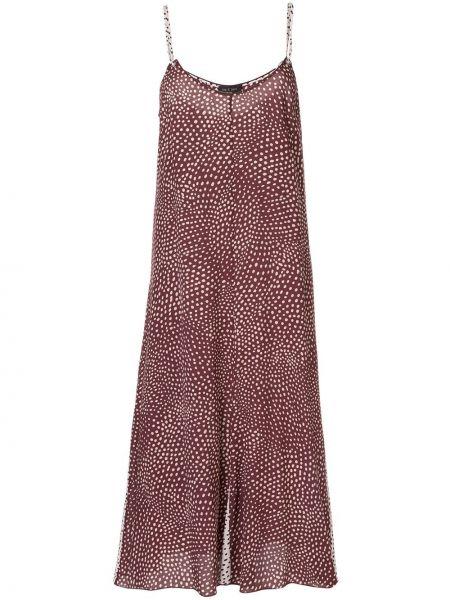 Платье в горошек на бретелях Rag & Bone