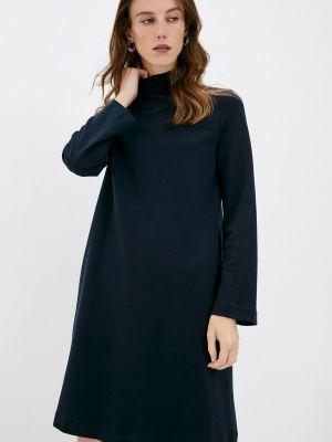 Синее повседневное платье Max Mara Leisure