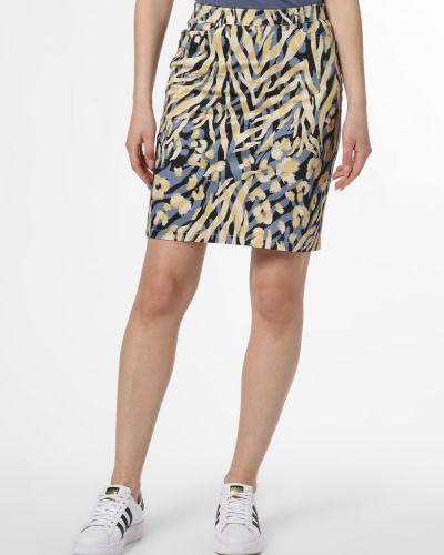 Niebieska spódnica ołówkowa Apriori