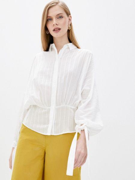 Блузка с длинным рукавом белая весенний Max&co