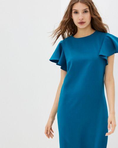 Прямое платье - бирюзовое Shovsvaro