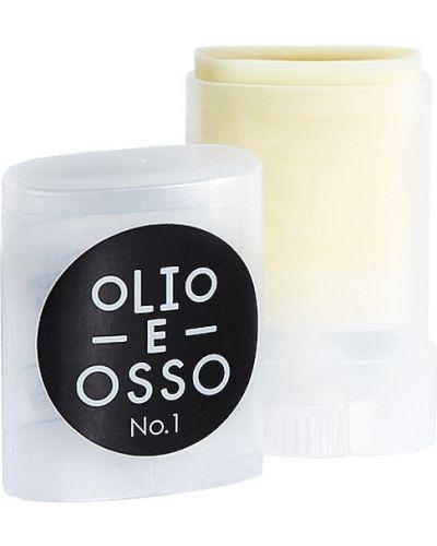 Skórzany zielony balsam do włosów Olio E Osso