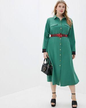 Платье - зеленое Averi