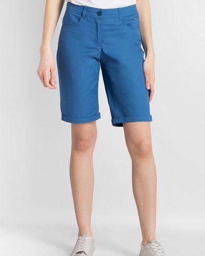 Синие шорты свободные Finn Flare