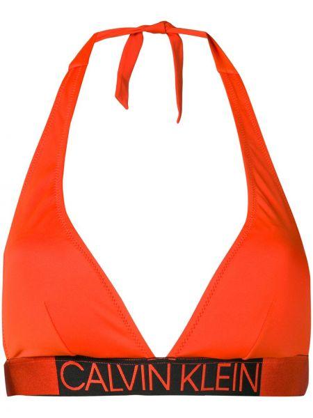 Бикини оранжевый Calvin Klein