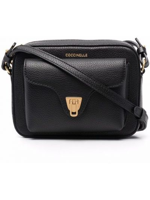 Черная сумка на молнии Coccinelle