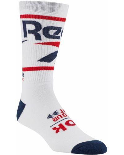 Носки высокие спортивные в рубчик Reebok