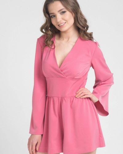 Розовый комбинезон с шортами Cauris