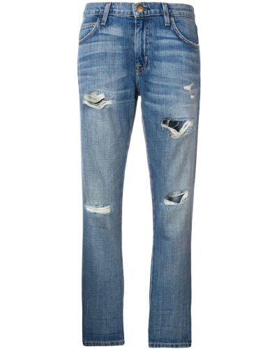 Прямые джинсы с поясом с эффектом потертости Current/elliott