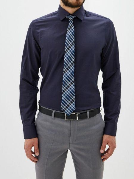 Рубашка с длинным рукавом синий всесезонный Bawer