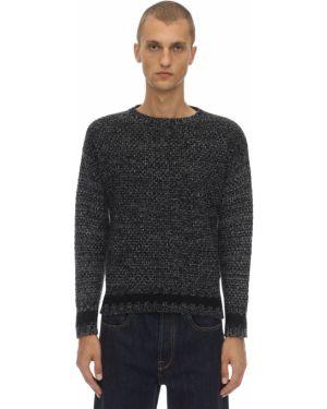Prążkowany sweter wełniany Mp Massimo Piombo