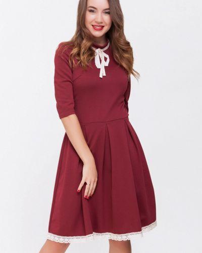 Платье бордовый красный Xarizmas