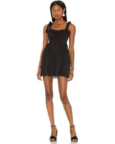 Кружевное платье мини - черное For Love & Lemons