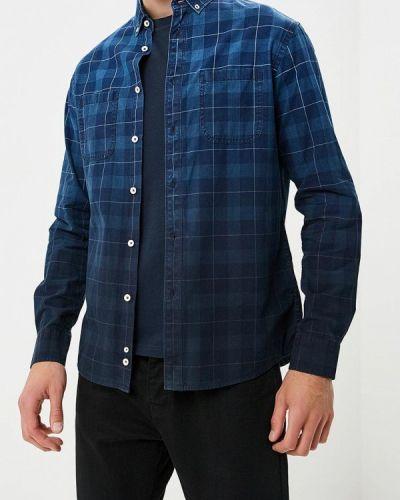 Синяя рубашка с длинным рукавом Celio