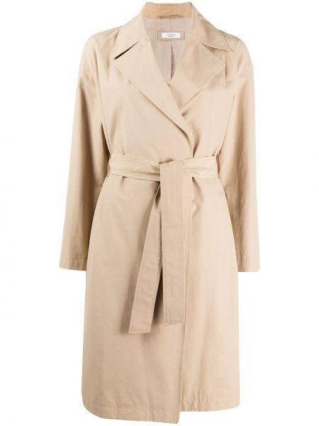 Длинное пальто с поясом Peserico