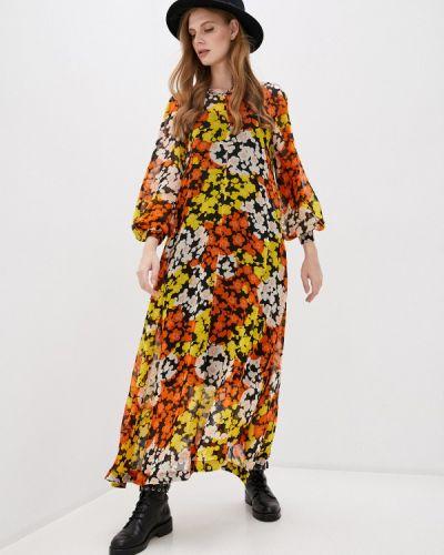 Повседневное повседневное платье Mcq Alexander Mcqueen