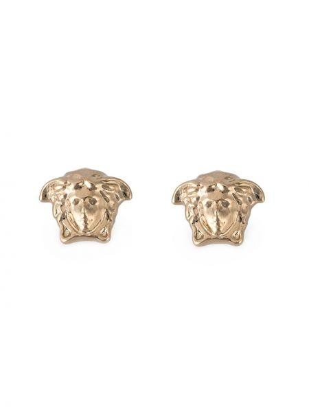 Kolczyki ze sztyftem kolczyki pierścionki ze złota Versace