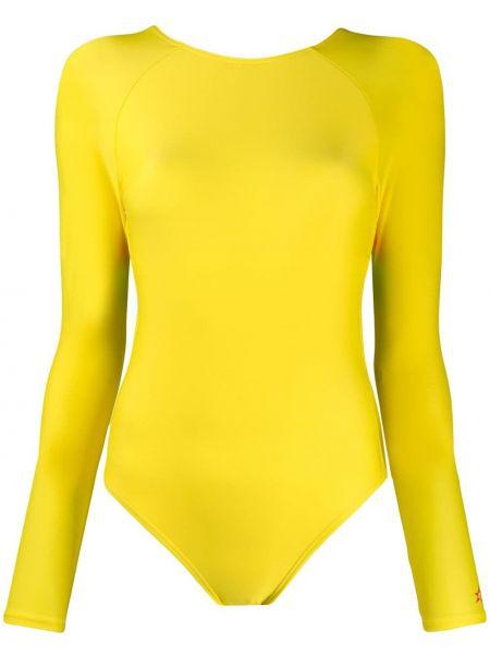 Купальник длинный - желтый Perfect Moment