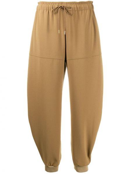 Спортивные брюки свободные с поясом Chloé