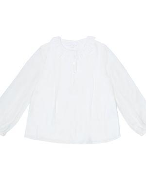 Biały bluzka z wiskozy Chloã© Kids