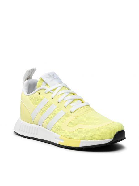 Półbuty - żółte Adidas