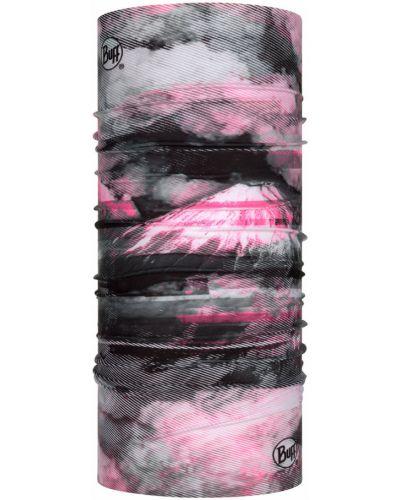 Różowy szalik materiałowy Buff