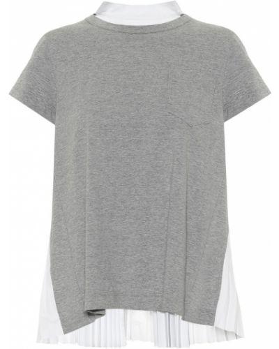 Ватная хлопковая классическая рубашка Sacai