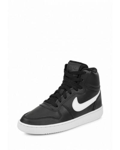 Высокие кеды черные из искусственной кожи Nike