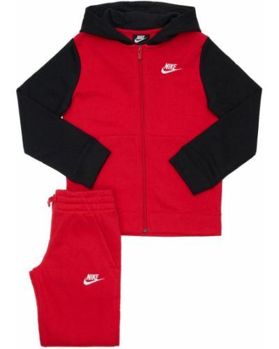 Ze sznurkiem do ściągania bawełna joggery z haftem z kieszeniami Nike