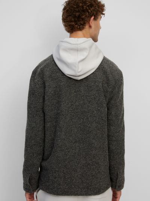 Джинсовая куртка длинная - черная Marc O'polo Denim