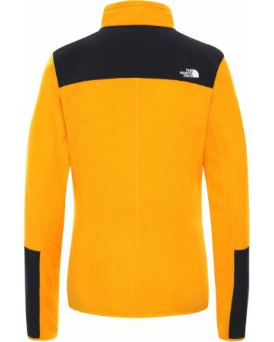 Флисовый теплый свитер The North Face