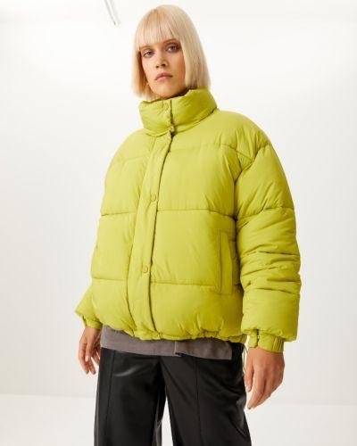 Зеленая куртка на синтепоне Sela