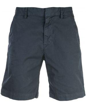 Короткие шорты с поясом хаки Save Khaki United