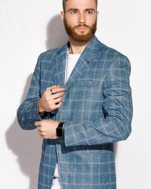 Джинсовый пиджак - белый Time Of Style