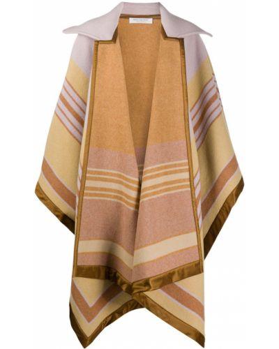 Шерстяной длинное пальто с воротником оверсайз Philosophy Di Lorenzo Serafini