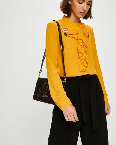 Блузка с V-образным вырезом с вышивкой Silvian Heach