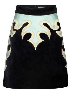 Czarna spódnica bawełniana Zimmermann