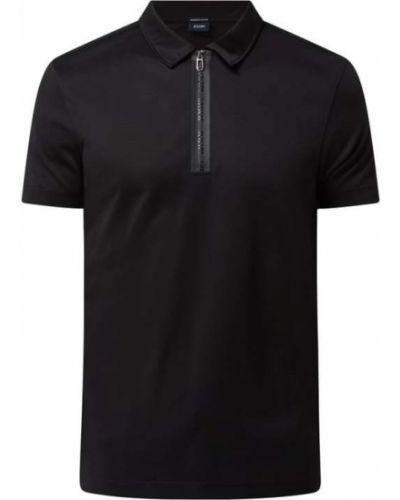 T-shirt bawełniana - czarna Joop! Collection