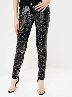 Черные брюки зауженные Gaudi