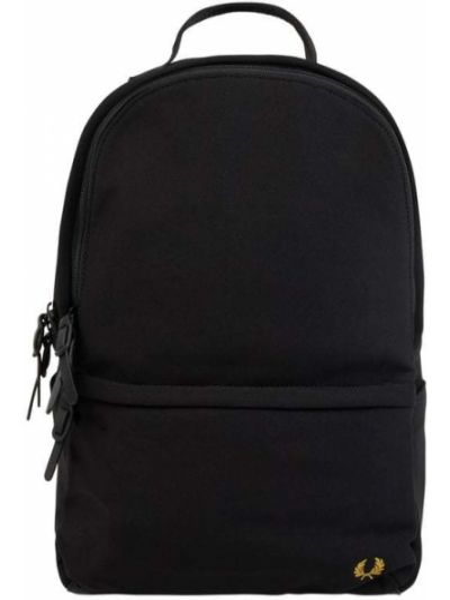 Czarny plecak na laptopa Fred Perry