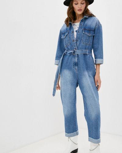 Синий джинсовый комбинезон Whitney