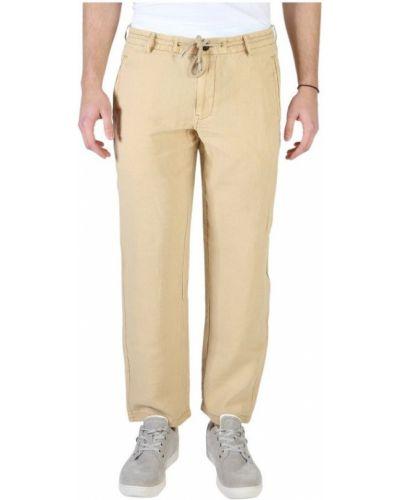 Spodnie - brązowe Armani Jeans
