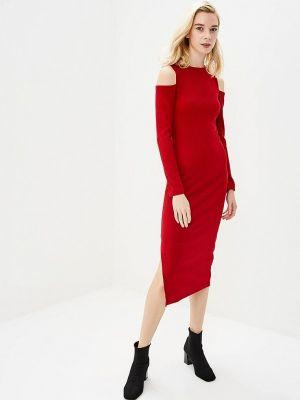 Платье футляр - красное Freespirit
