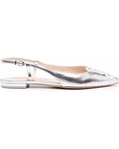 Серебряные туфли серебристые Sophia Webster